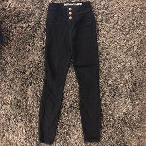 Bethany Mota Dark Wash High Waisted Jegging Jeans